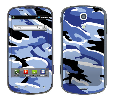 Samsung Epic Skin :: Camo Blue