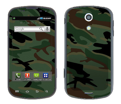 Samsung Epic Skin :: Camo Green