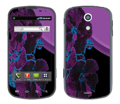 Samsung Epic Skin :: Cosmic Flowers 1