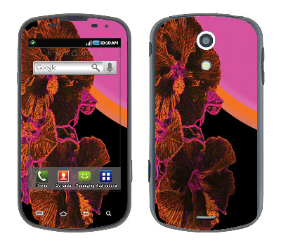 Samsung Epic Skin :: Cosmic Flowers 3