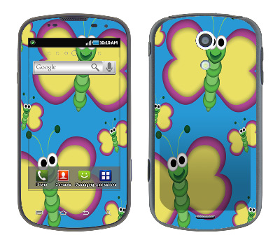 Samsung Epic Skin :: Digital Butterfly