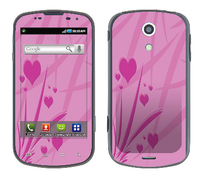 Samsung Epic Skin :: Floating Hearts