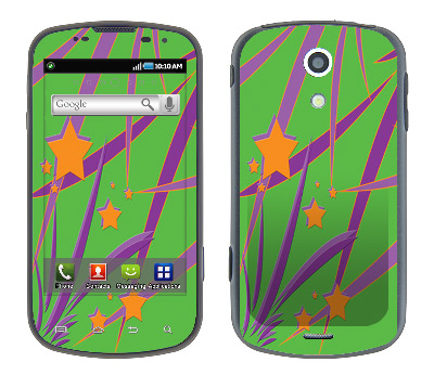 Samsung Epic Skin :: Floating Stars