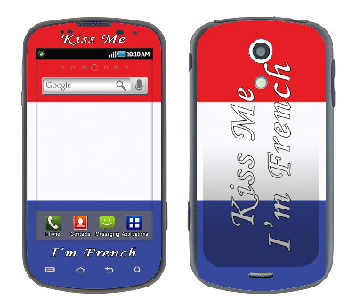 Samsung Epic Skin :: Kiss Me French