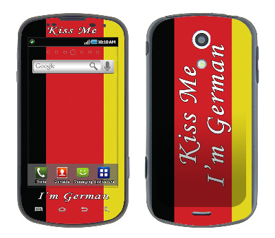 Samsung Epic Skin :: Kiss Me German