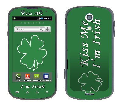 Samsung Epic Skin :: Kiss Me Irish