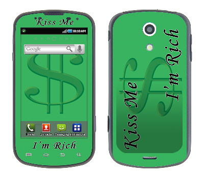 Samsung Epic Skin :: Kiss Me Rich