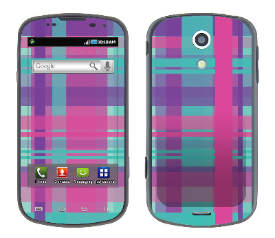 Samsung Epic Skin :: Candy Shop Plaid