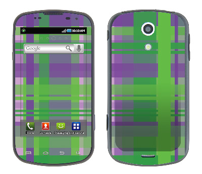 Samsung Epic Skin :: Punk Rock Plaid