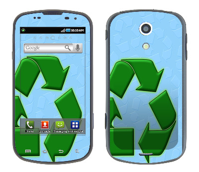 Samsung Epic Skin :: Recycle