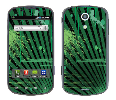 Samsung Epic Skin :: Splatter Green