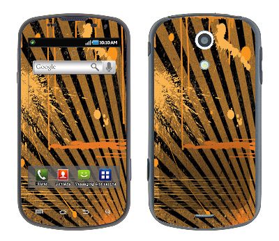 Samsung Epic Skin :: Splatter Orange