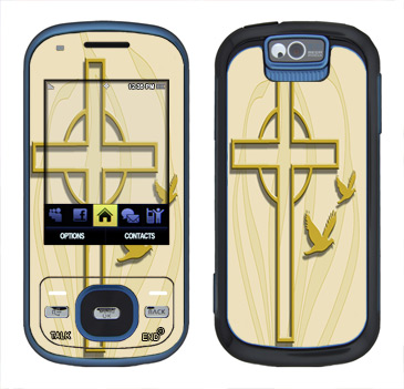 Samsung Exclaim Skin :: Christian 1