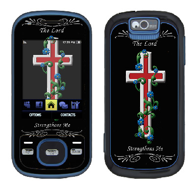 Samsung Exclaim Skin :: Christian 3