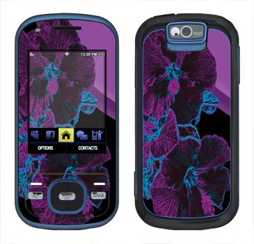 Samsung Exclaim Skin :: Cosmic Flowers 1