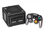 Nintendo GameCube Skin :: Black Chrome