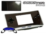 Nintendo Gameboy Micro Skin :: Black Chrome