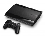 Sony PlayStation 3 Super Slim Skin :: Black Chrome