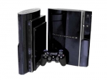 Sony PlayStation 3 Skin :: Black Chrome