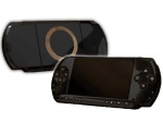 Sony PSP Skin :: Black Chrome
