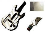 Guitar Hero 5 Genericaster Guitar for the Wii Skin :: Silver Chrome