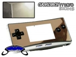 Nintendo Gameboy Micro Skin :: Silver Chrome
