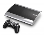 Sony PlayStation 3 Super Slim Skin :: Silver Chrome