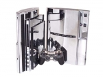Sony PlayStation 3 Skin :: Silver Chrome