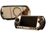 Sony PSP Skin :: Silver Chrome
