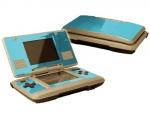 Nintendo DS Skin :: Sky Blue Chrome