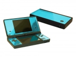 Nintendo DSi Skin :: Sky Blue Chrome