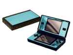 Nintendo DS Lite Skin :: Sky Blue Chrome