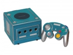 Nintendo GameCube Skin :: Sky Blue Chrome