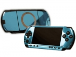 Sony PSP Skin :: Sky Blue Chrome