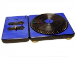 DJ Hero for the PS2, PS3, and 360 Skin :: Blue Chrome