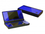Nintendo DSi Skin :: Blue Chrome