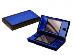 Nintendo DS Lite Skin :: Blue Chrome