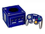 Nintendo GameCube Skin :: Blue Chrome