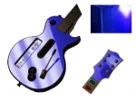 Guitar Hero 3 Les Paul Guitar for the Nintendo Wii Skin :: Blue Chrome