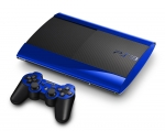 Sony PlayStation 3 Super Slim Skin :: Blue Chrome