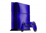 Sony PlayStation 4 Skin :: Blue Chrome