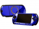 Sony PSP Skin :: Blue Chrome