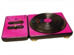 DJ Hero for the PS2, PS3, and 360 Skin :: Pink Chrome