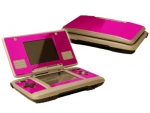 Nintendo DS Skin :: Pink Chrome