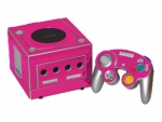 Nintendo GameCube Skin :: Pink Chrome