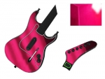 Guitar Hero 3 Les Paul Guitar for the PS2 Skin :: Pink Chrome