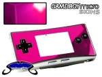 Nintendo Gameboy Micro Skin :: Pink Chrome