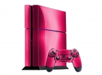 Sony PlayStation 4 Skin :: Pink Chrome