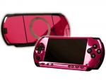 Sony PSP Skin :: Pink Chrome