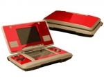 Nintendo DS Skin :: Red Chrome
